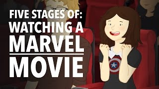 Five Stages of Watching A Marvel Movie - HISHE Features: OnlyLeigh