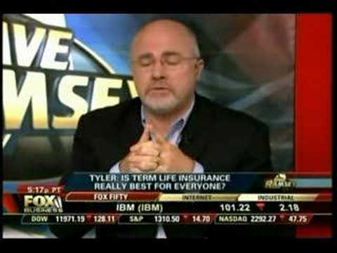 Dave Ramsey on Life Insurance