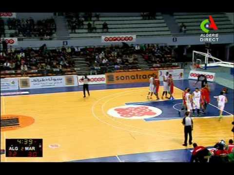 Algeria v Morocco Q2 (Basket Ball) 08/01/2015 (highlights)