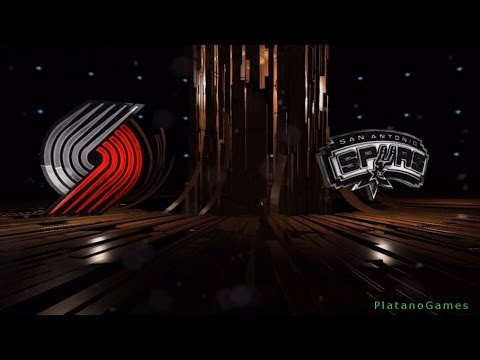 NBA Playoffs - Portland Trail Blazers vs San Antonio Spurs - Game 5 - 1st Qrt - Live 14 - HD