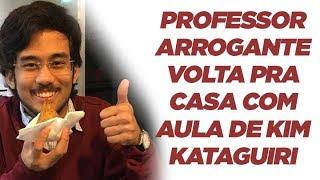 Professor arrogante troca de lugar e vira aluno de Kim Kataguiri