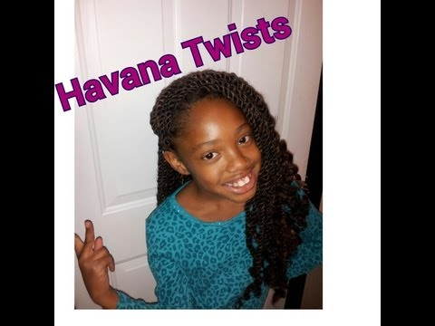 #10. Havana Twists done on Natural Hair