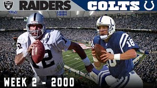 """A Quick Comeback"" (Raiders vs. Colts 2000, Week 2)"
