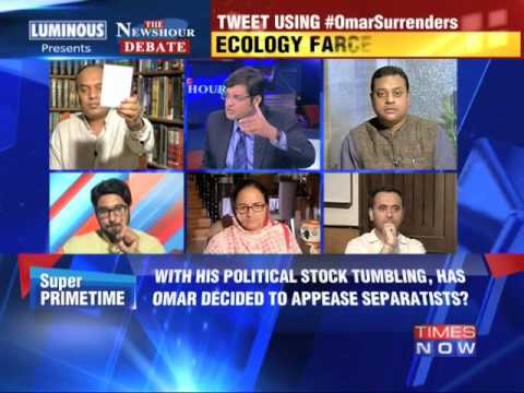 The Newshour Debate: Omar Abdullah Surrenders - Part 2 (1st August 2014)