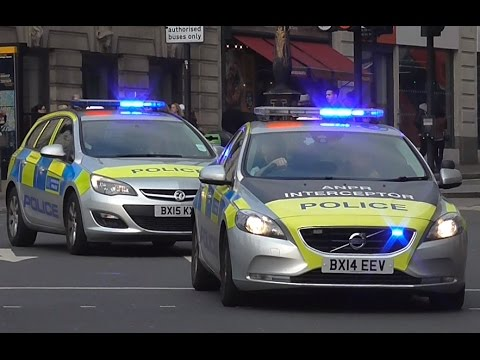 Metropolitan Police // Area Car + IRV Responding