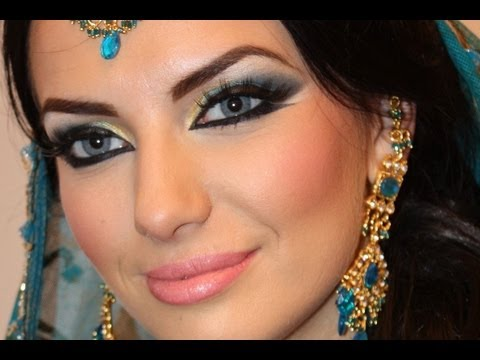 Makeup Tutorial Exotic Arabic Makeup Tutorial Princess Jasmine Makeup  ماكياج العربي