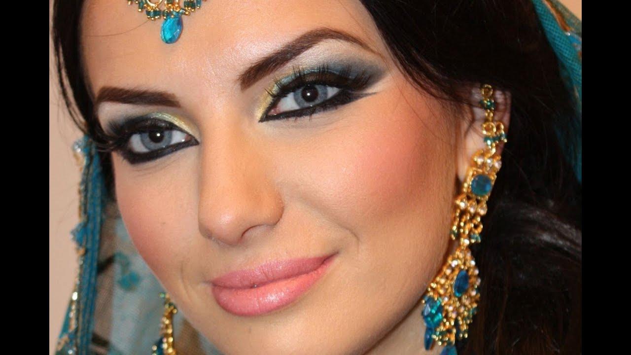 Арабские девушки макияж