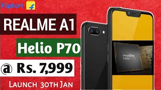 Realme A1 price & Launch date in India   Realme A1 first look   New realme smart phone @ ₹ 7,999.