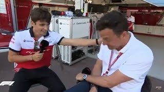 Live: (Emotional) Q&A with Charles Leclerc | F1 Monaco GP 2018