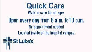 St Lukes Quick Care
