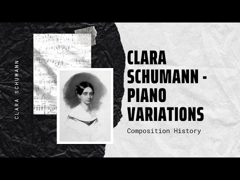 Clara Schumann - Piano Variations