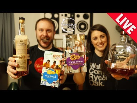 What Bourbons Go with Girl Scout Cookies?  - LIVE