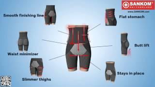 SANKOM BODY SHAPER 3D VIDEO