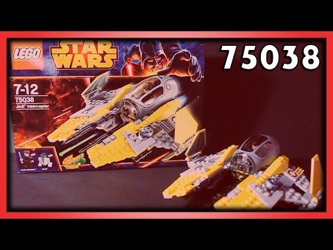 LEGO Star Wars Jedi Interceptor Review, Set 75038