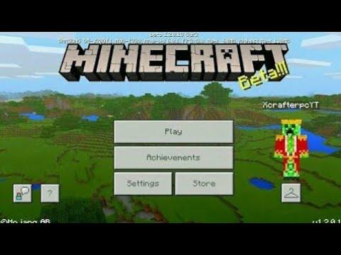 Minecraft PE 1.2 | MCPE 1.2 BETA BUILD 9 RELEASED!! + GAMEPLAY!! (Pocket Edition)