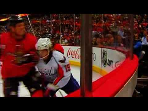 NHL Hockey Hard hits and body checks