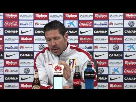 "Diego Simeone: ""Das ist Atleticos DNA"" | Atletico Madrid - Real Madrid | Derbi Madrileno"