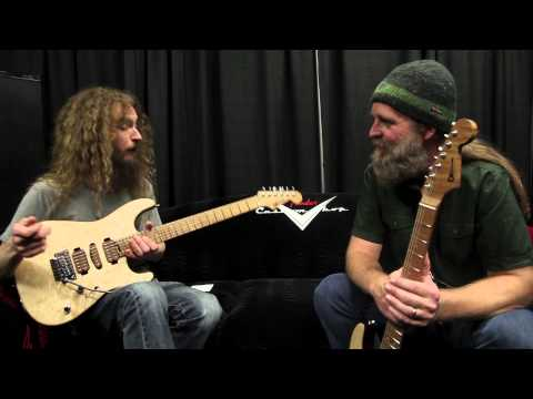 Namm '15 Guthrie Govan And Chip Ellis Discuss Guthrie's Signature Charvel video
