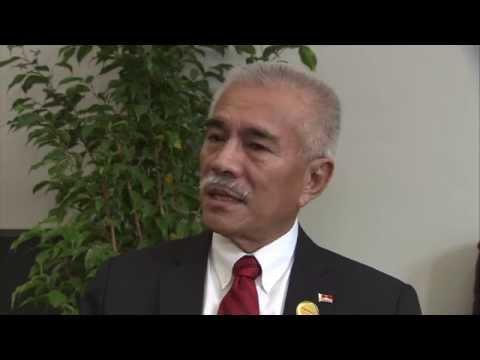 WCDRR Interview Kiribati
