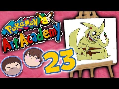 Pokemon Art Academy: Make It Work! - PART 23 - Grumpcade