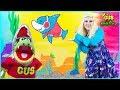 Lagu Baby Shark  Kids Song and Nursery Rhymes Sing and Dance  Animal Songs with Gus