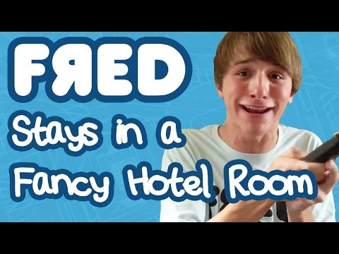 Fred Goes To A Fancy Hotel Room