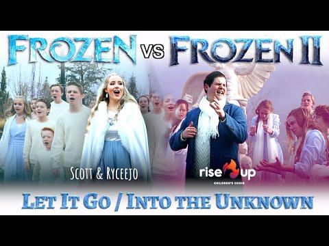 Let It Go Into the Unknown - EPIC Disney Mashup (Frozen / Frozen 2) - ft. Rise Up Children's Choir