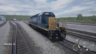Train Sim World CSX HEAVY HAULT BETA - Obaczajam #1