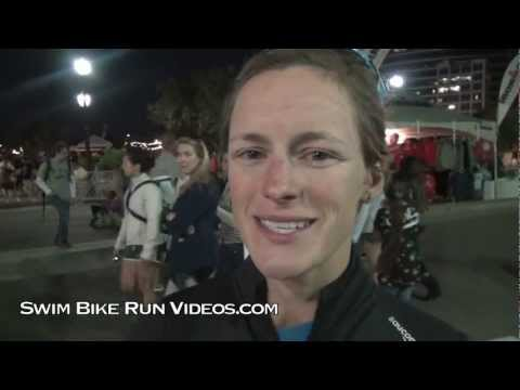 Linsey Corbin Post Race Interview, 2011 Ironman Arizona