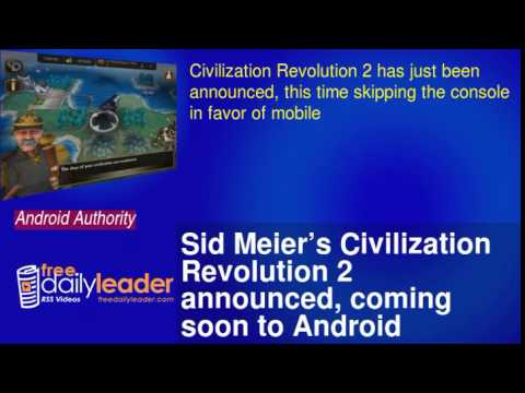 Sid Meier's Civilization Revolution 2 announced, coming soon to Android