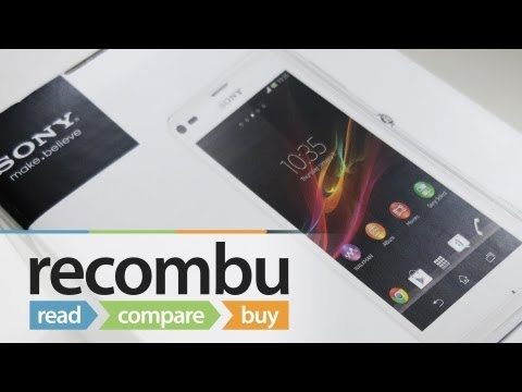 Sony Xperia L Unboxing video