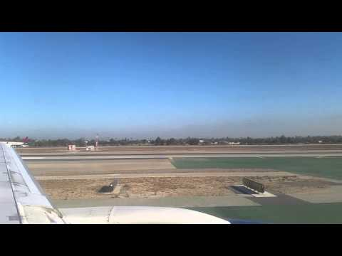 Delta Air Lines Boeing 757 take off from LAX