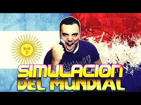 Fifa 14  Simulación Mundial Brasil 2014  Argentina Vs Holanda