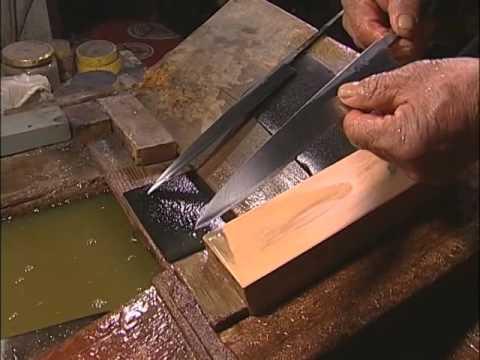 Kameyama Shachuu presenta : Fabricacion de cuchillos