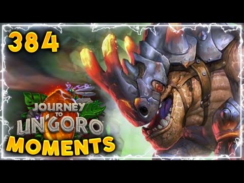 Is That A Getaway Kodo Bug?? | Hearthstone Un'Goro Daily Moments Ep. 384 (Funny And Lucky Moments)