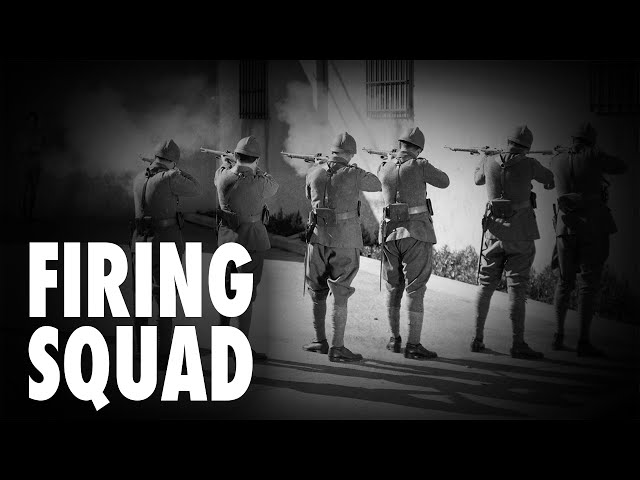Firing Squads Coming Back & Maybe That's A Good Thing