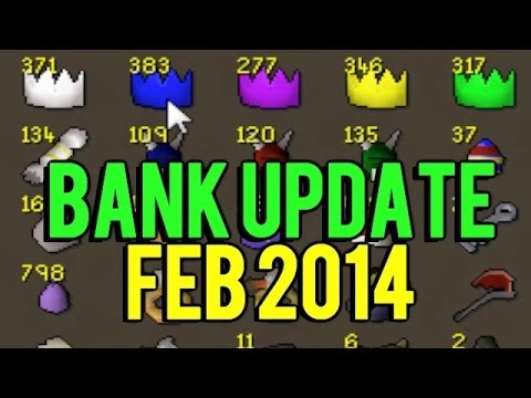 Runescape 2007 - Sparc Mac's Bank Update w/ Live Commentary!
