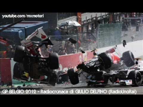 Gp BELGIO 2012 – Radiocronaca di Giulio Delfino (Spa-Francorchamps) da RadioUnoRai