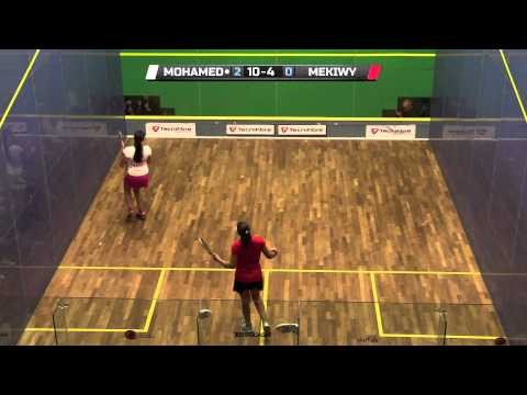 Squash: World Squash Awards Women's Young Player Of The Year Runner-up - Habiba Mohamed