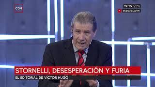 El editorial de Víctor Hugo 15/03/2019: Las constantes mentiras de Macri
