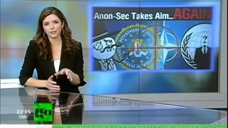 Anonymous Hacks NATO... FBR at a loss....News