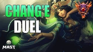 Chang'e Duel Gameplay | SMITE Masters Ranked | Dancing In Tower!