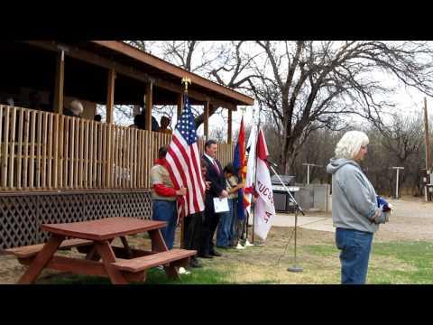 Flag Raising Ceremony at Children's Ranch