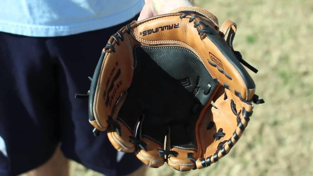 Infielders Glove Break in a Middle Infield Glove