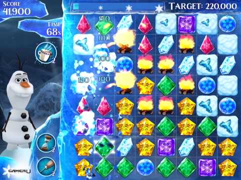 Frozen Free Fall - How to Pass Level 224