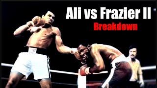 The Epic Rematch Explained - Ali vs Frazier 2 Breakdown