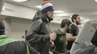 Anatomy of UFC 223: Episode 4 - Khabib Nurmagomedov and the Dagestanis late night workout