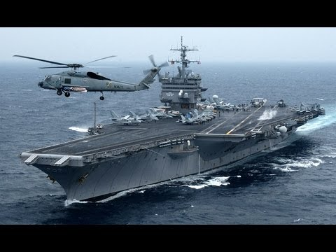 Nuclear-Powered USS Enterprise (CVN-65) On Final Voyage - Super Porta-Avies dos EUA Misso Final