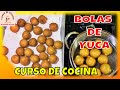 How to make yucca balls, yucca croquettes