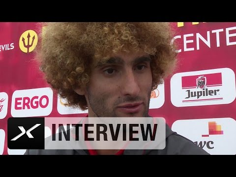 Marouane Fellaini: Deshalb sind meine Haare blond | Belgien | EM 2016